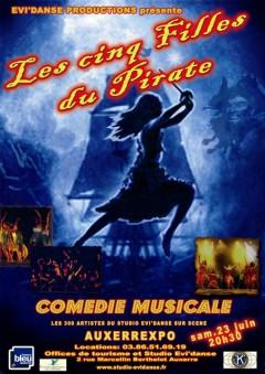 Comédie musicale : Les cinq filles du pirate