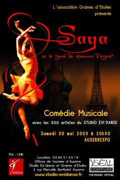 Comédis musicale : Saga