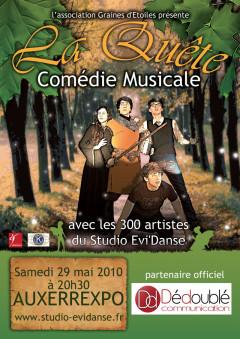 Comédie musicale : La quête