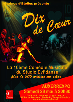 Comédie musicale : Dix de coeur